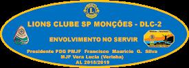 LIONS CLUBE SP MONÇÕES  - PRESIDENTE PDG PMJF FRANCISCO MAURICIO