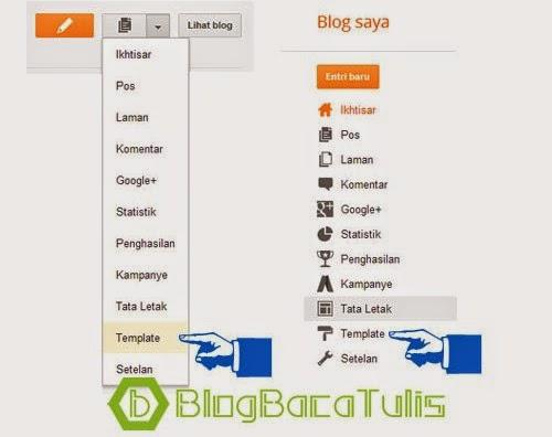Cara Mengganti Background Template Blog