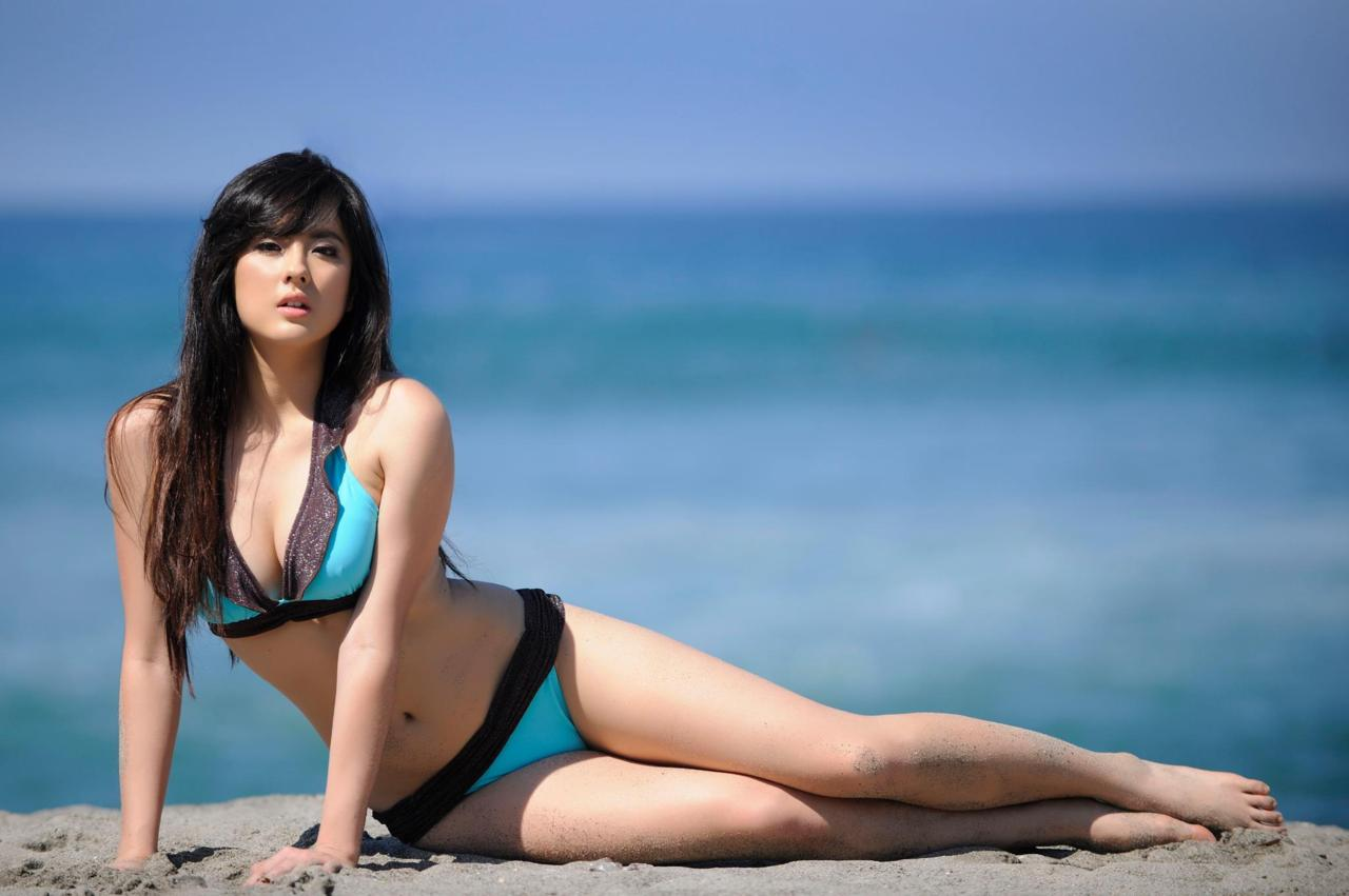 jinri park sexy bikini photos 01