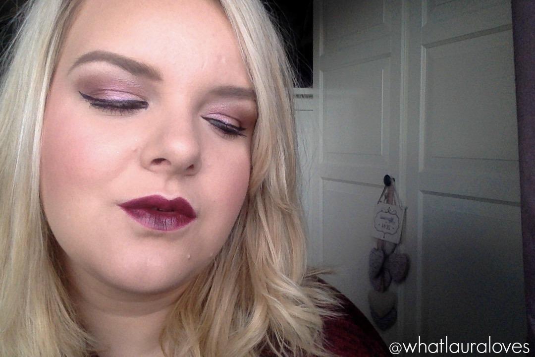 5 Fall/Autumn Fashion and Beauty Favourites berry lip