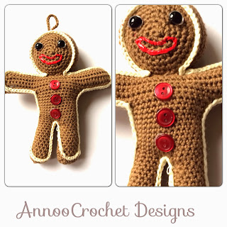 Gingerbread Christmas Crochet Patterns - List My Five