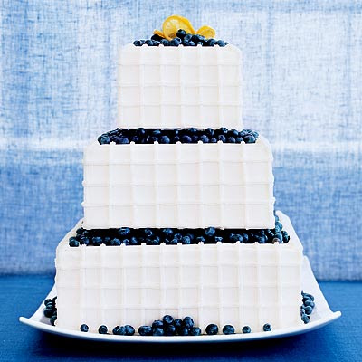 Wedding Cakes with fruit