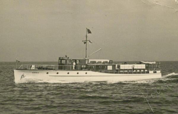 Carin II Goering yacht worldwartwo.filminspector.com