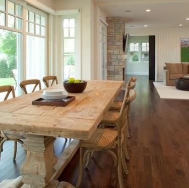 Arredo e Design: Tavoli taverna tre metri il legno è protagonista ...