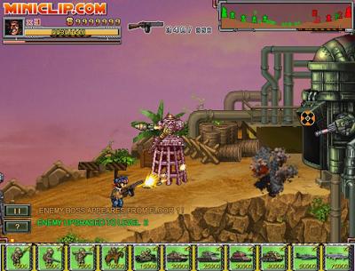 Mainkan Game Commando Assault
