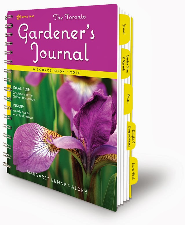 Get your 2014 Toronto Gardener's Journal