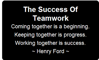 Cute in Quotes: Teamwork Quotes