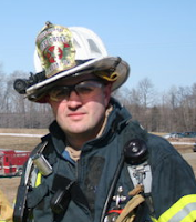 Fire Chief Don Erbin, Jr. Kuhl Hose Company, Greene Township, Erie, PA