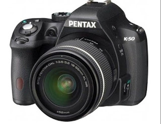 New Pentax K-50, weather resistant feature, entry level camera