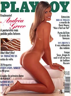 Andréa Greco - Playboy 1996