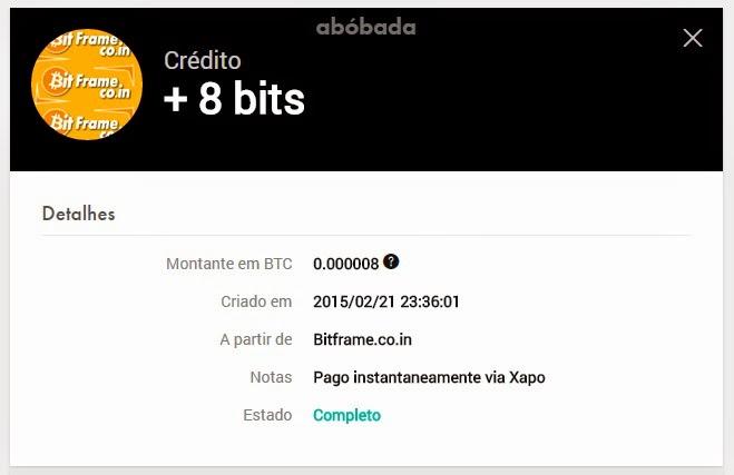[Testar] Bitframe - Paga bitcoins free instantâneo! Comprovante%2Bde%2Bpagamento%2Bvia%2Bxapo