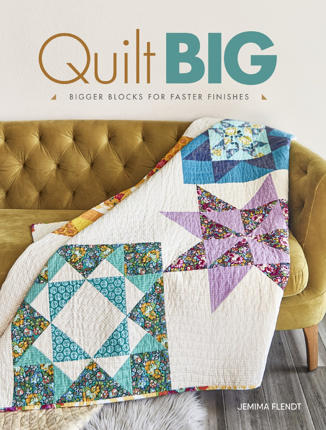 My NEW Book - Quilt BIG