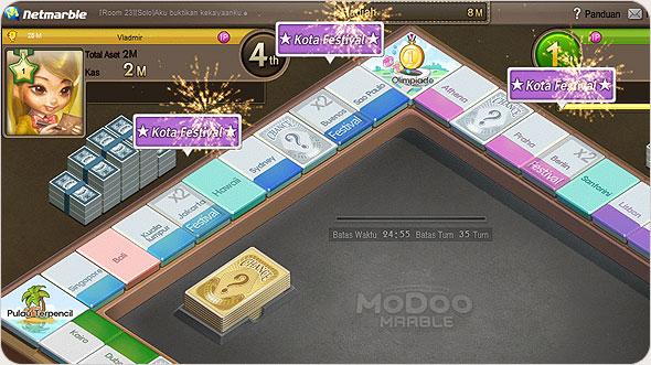 Cheat Atau Trik Game Modoo Marble Indonesia