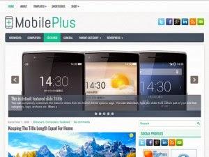 MobilePlus - Free Wordpress Theme
