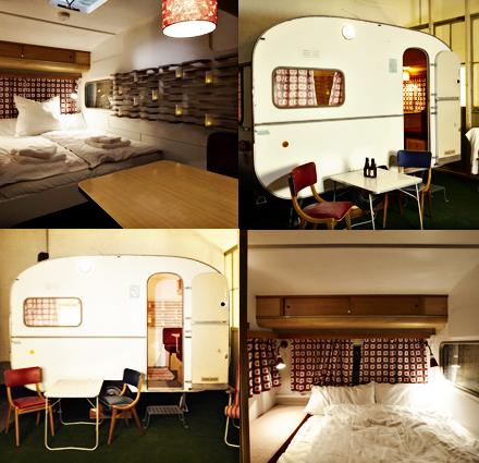 martha ayres denk hotel incomum cabanas e trailers transformados em quartos. Black Bedroom Furniture Sets. Home Design Ideas