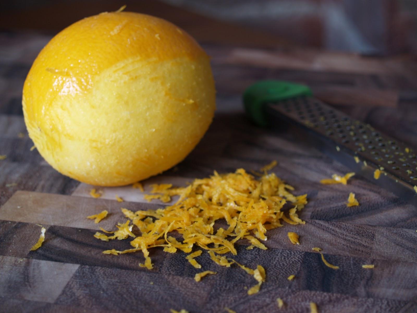 Persimmon and Peach: Meyer Lemon Sorbet