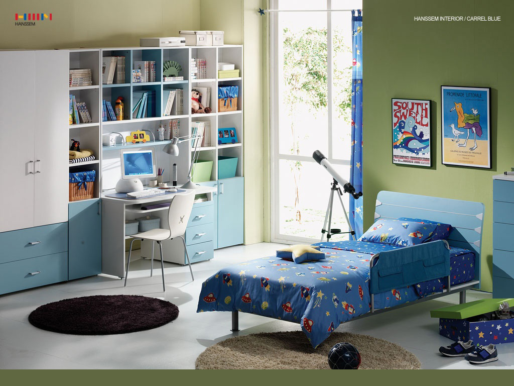 April 2011 home design interior for Childrens bedroom ideas boys