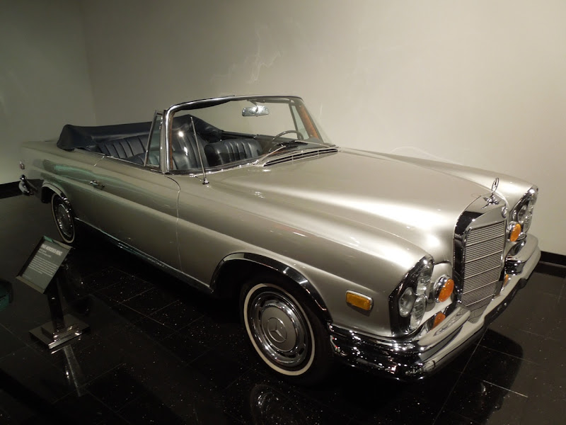 Hangover 1965 Mercedes-Benz movie car