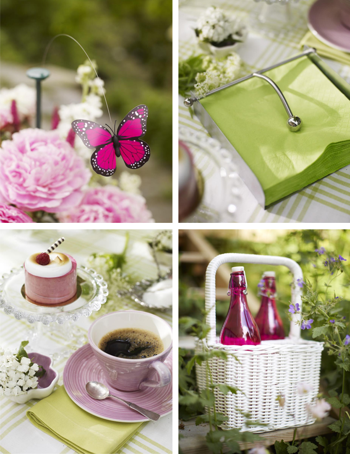 High Tea Table Decor : Country Style Chic: Girly Garden Party