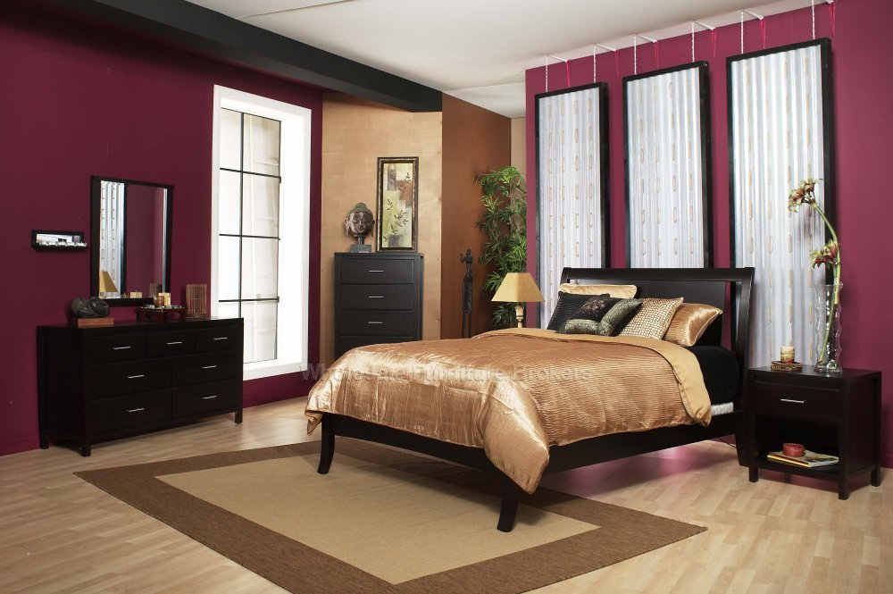 Fantastic modern bedroom paints colors ideas interior decorating idea - Paint in bedroom with designs ...