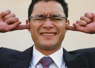 Gambar 1. kebisingan di tempat kerja (http://www.republika.co.id)