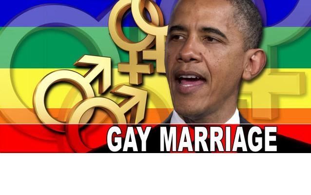 Barak obama view on gay marriage