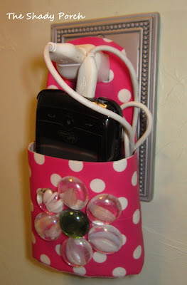 Cell Phone Holder for Charging - Earth Day Challenge