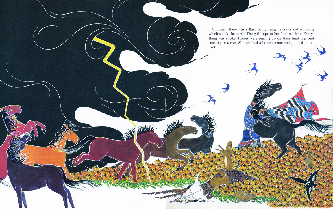 The Art of Children's Picture Books: The Girl Who Loved Wild ...