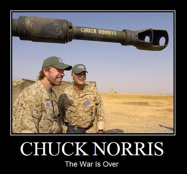 Chuck_Norris_The_War_Is_Over_demotivational_poster jays' tee vee gendo ikari vs chuck norris an interesting \