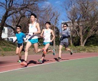 大学院 (運動生理学)、マラソンへ羽ばたく <br>「近藤秀一」(東大工学部4年生)