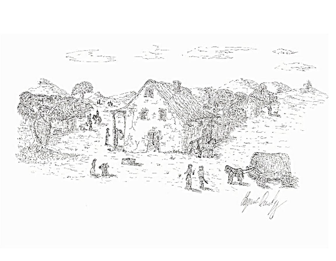 Le creazioni di lapenna daniele dicembre 2008 for Disegni di cabina di campagna