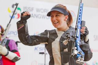 Andrea Arsovic - Sérvia - Carabina 3 Posições - Copa do Mundo ISSF 2013 - Tiro Esportivo