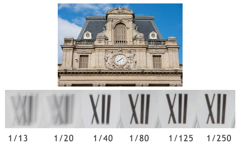 nikon d800 - photos test flou de bouge vitesses differentes