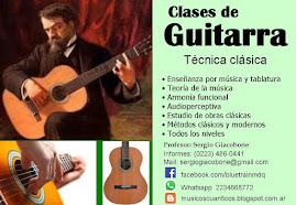 Clases de guitarra en Mar del Plata, con técnica clásica