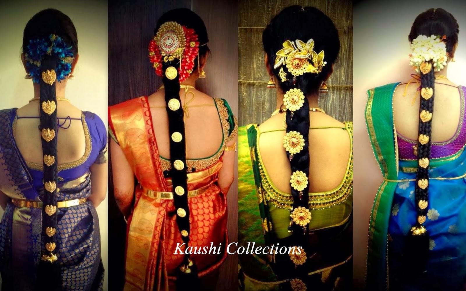 Sparkling Fashion South Indian Bridal Hair Accessories