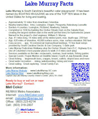 Lake Murray Facts Brochure