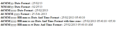 Formatted Date Time In Asp.Net