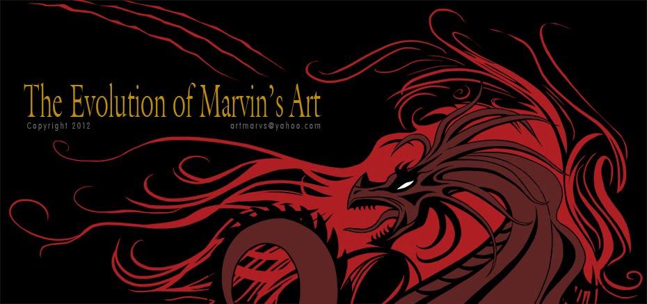 The Evolution of Marvin's Art