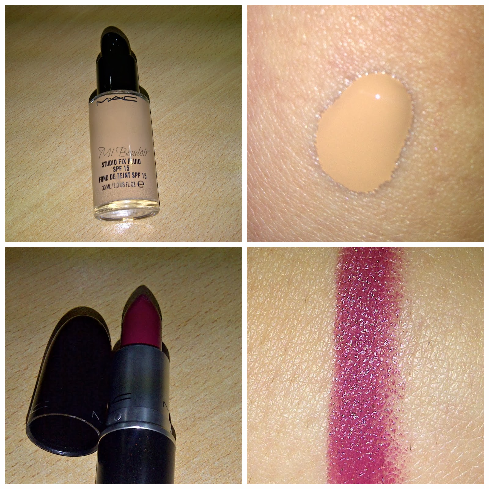 MAC AMOROUS Y STUDIO FIX FLUID NW25