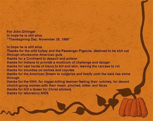 Best Thanksgiving Prayer William Burroughs
