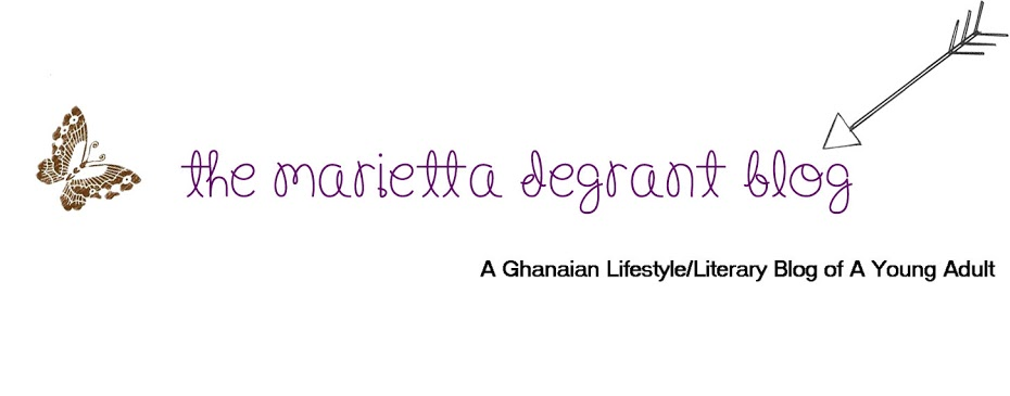 The Marietta DeGrant Blog