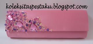 Tas Pesta Pink Ayu CantiK Mewah Elegant Harga Terjangkau Murah