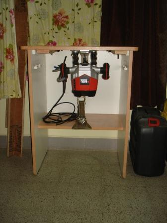 Final Embly Of The Router Table Fence Not Shown