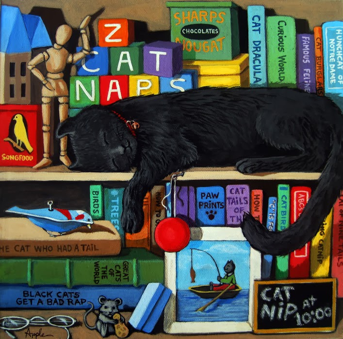 http://www.applearts.com/content/black-cat-nap-time-animal-art-portrait-still-life-scene