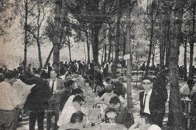 XI Festa Catalana dels Escacs en Tordera 1964