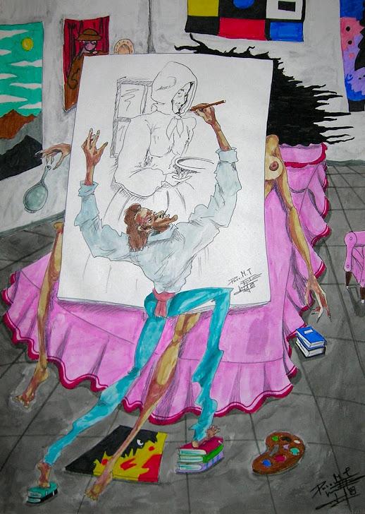 El pintor y su muza 7-2-91