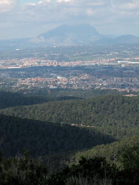 Montsserrat desde Collserola