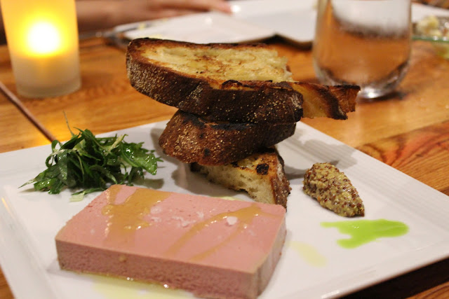 Chicken liver mousse at Catalyst, Cambridge, Mass.