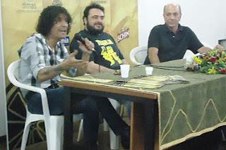 Luis Caldas, João Carlos Sampaio e Ninho Moraes - Mostra Cinema Conquista