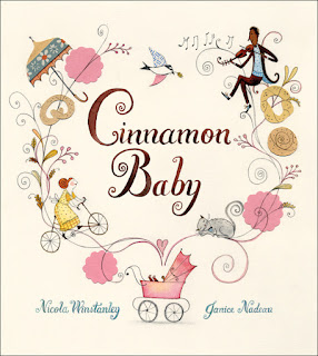 Books for babies - Cinnamon baby nicola winstanley